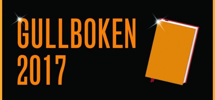 De nominerte til Gullboken 2017 er klare!